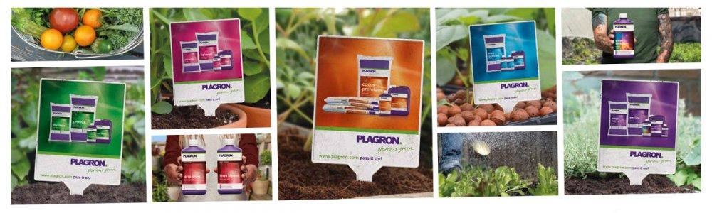 Plagron, vše pro pěstování bylinek, zeleniny v každém substrátu