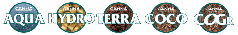 Řady Canna hnojiva a substráty na indoor pěstování bylinek
