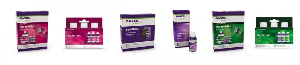 Sady hnojiv na pěstování bylinek na 1 m2 od Plagron