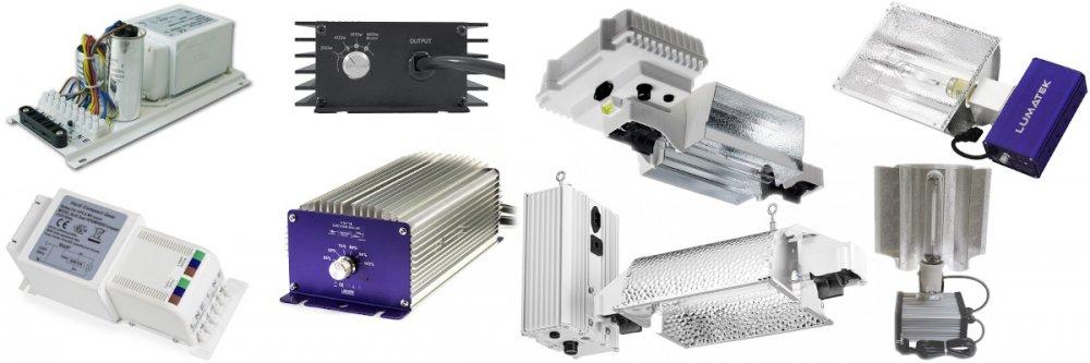 Elektromagnetické i digitální předřadníky a complete fixture