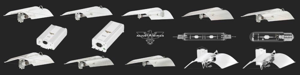 Reflektory a stínidla Adjust-A-Wings Defender, Avenger, Enforcer, Hellion