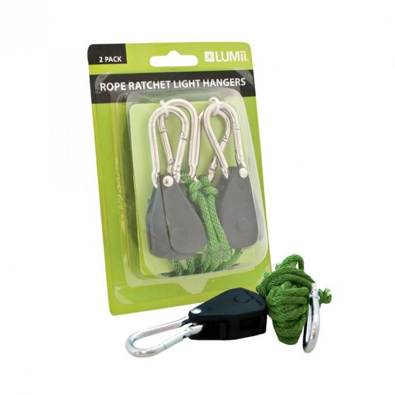 LUMii Rope Ratchet, 2 ks, nosnost 70 kg