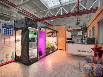 Growmarket má nový showroom