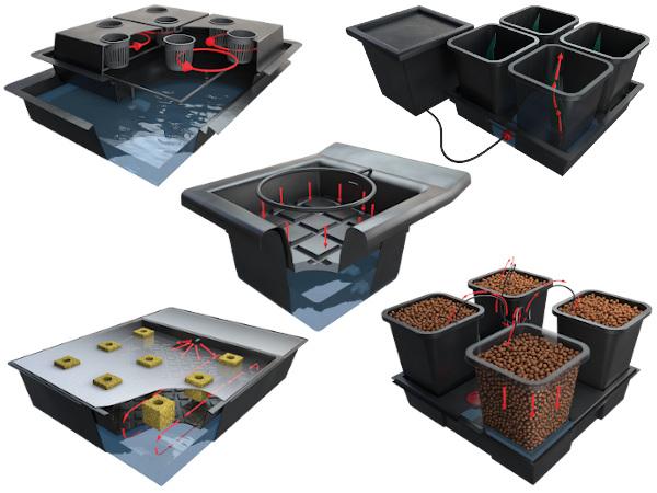 Hydroponické a aeroponické systémy