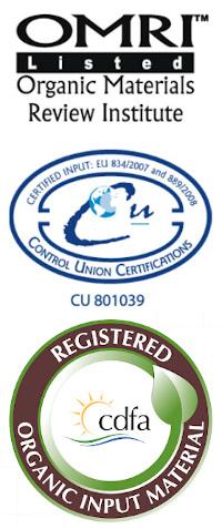 Certifikáty organických hnojiv