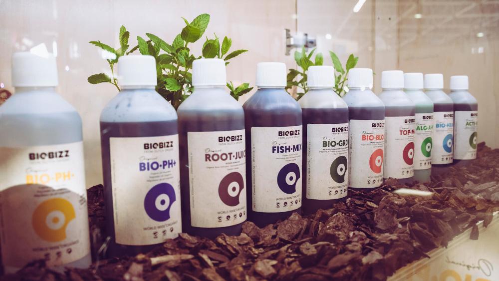 Organické BioBizz hnojiva a substráty splňují nejvyšší nároky na ekologické pěstování.
