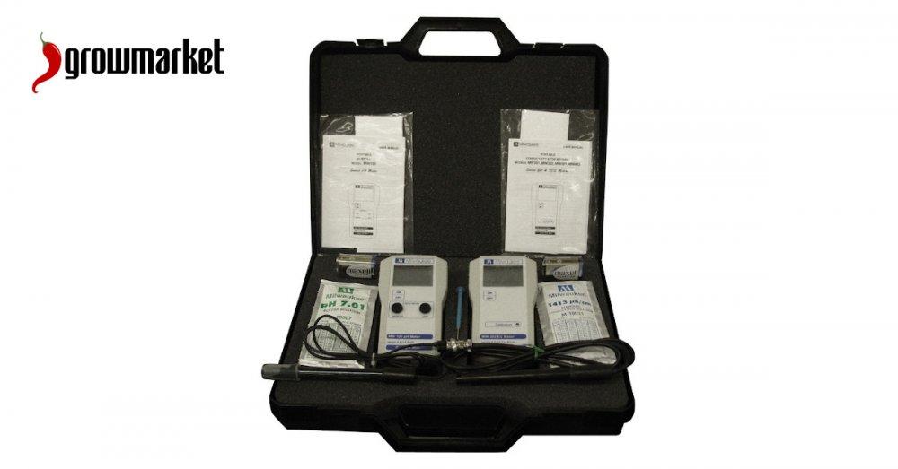 Precizní měřící přístroje na měření vlhkosti, teploty, pH, EC pro pěstitele