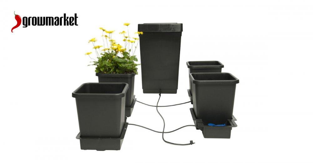 Květináče a závlaha pro pěstování bylinek